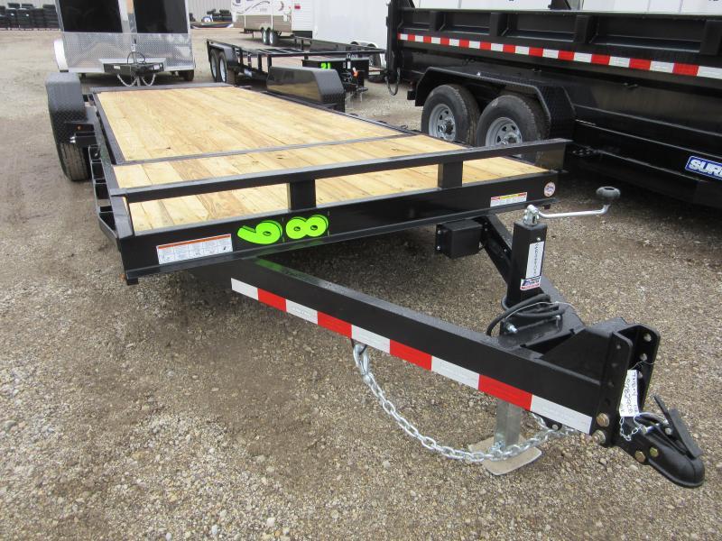 2020 Sure-Trac 7 x 18+4 Tilt Bed Equipment  14K