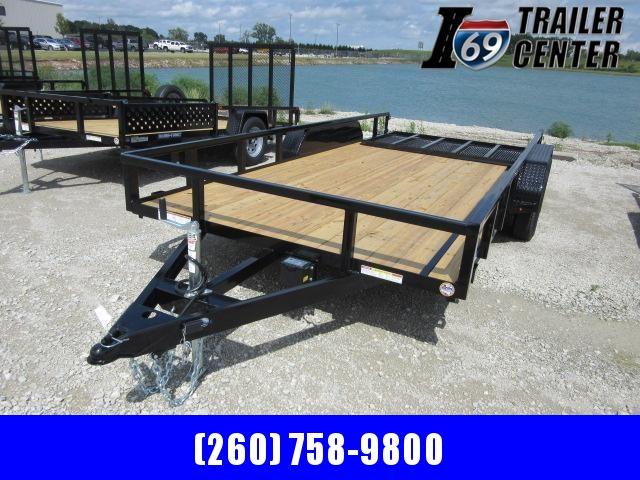 2021 Sure-Trac ST8220TAT-B-070 Utility Trailer
