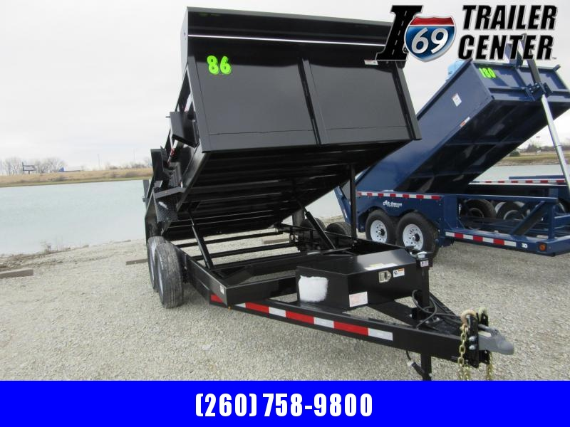 2021 Sport Trailers DT83214T 14 FT DUMP 14K Dump Trailer