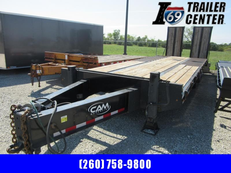 2019 Cam Superline P25CAM829TAFW Flatbed Trailer