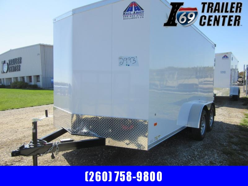 2021 Haul About Cougar 7 x 14 Tandem Axle Enclosed Cargo Trailer