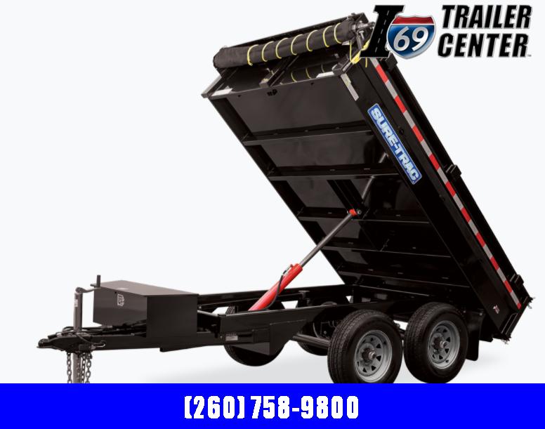 2021 Sure-Trac ST7210DOD-B-070 Dump Trailer