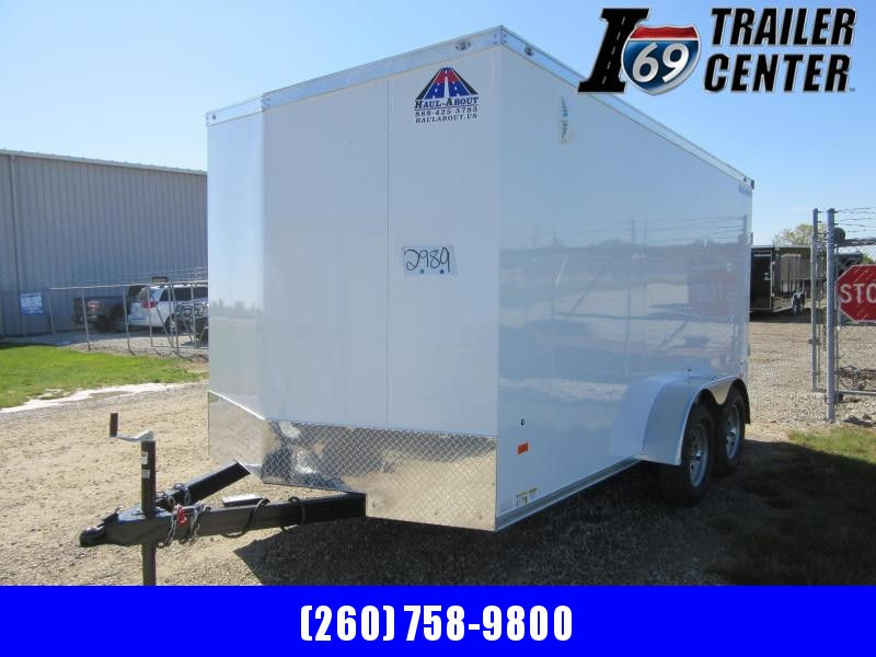 2021 Haul About 7 x 14 Cougar tandem axle Enclosed Cargo Trailer