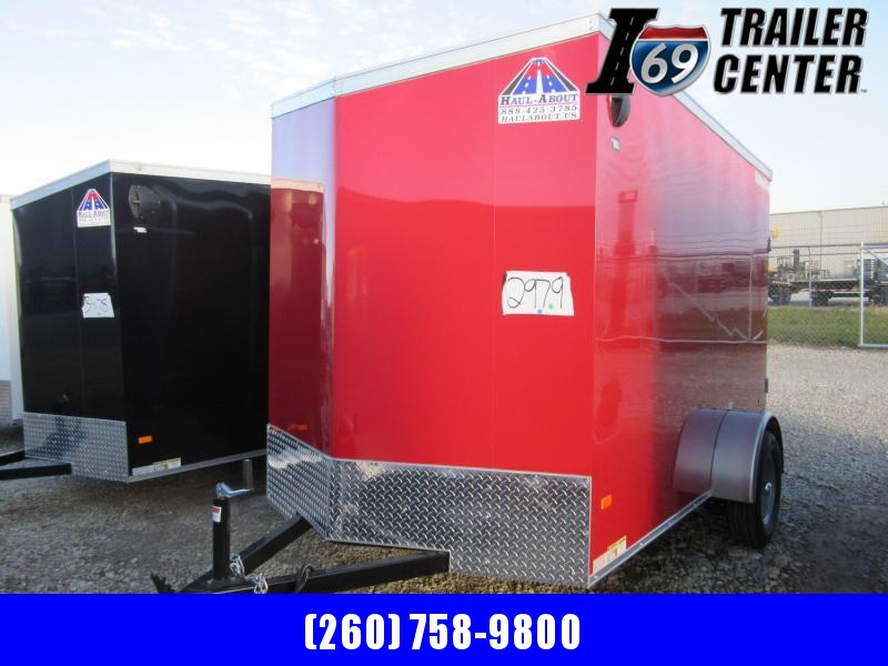 2021 Haul-About COUGAR 6 X 10 Enclosed Cargo Trailer
