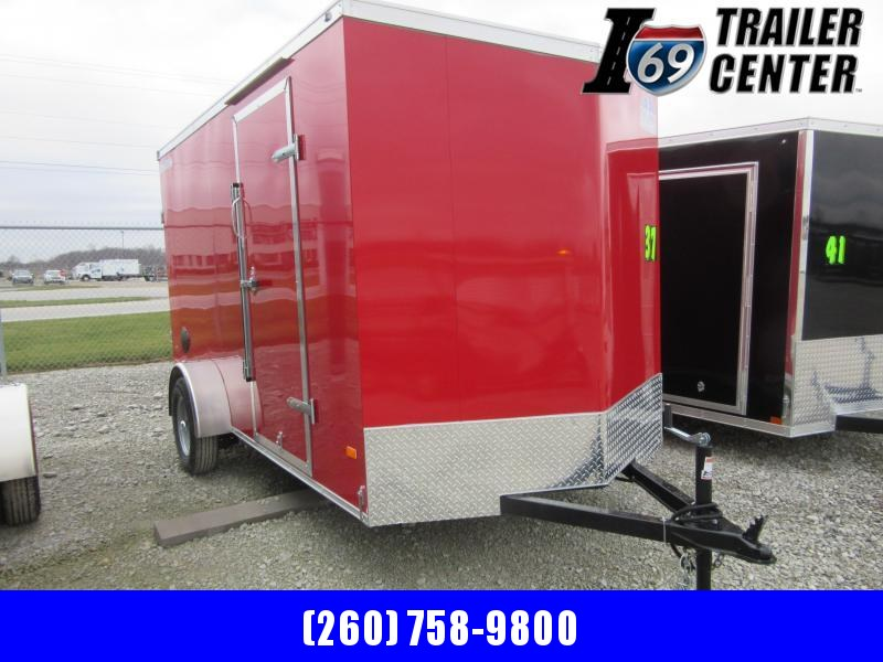 2021 Haul-About CGR612SA 6 x 12 Single Axle Enclosed Cargo Trailer