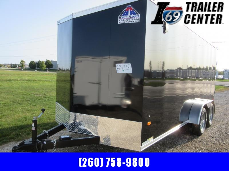 2021 Haul-About cougar 7 x 16 tandem axles Enclosed Cargo Trailer