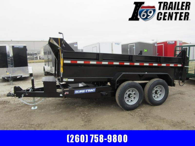 2021 Sure-Trac 82 IN x 12 HD 12K Low Profile Dump Trailer