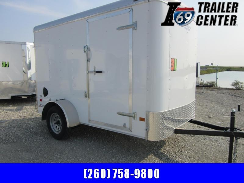 2019 American Hauler American Hauler 6 x 10 White Double rear doors Enclosed Cargo Trailer