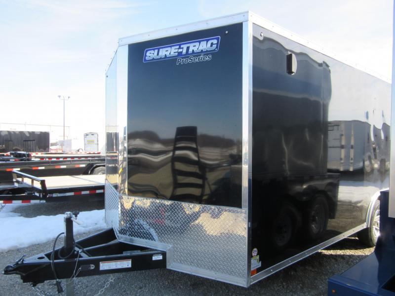 2021 Sure-Trac 8.5 x 20 Pro Series Enclosed Wedge Car H