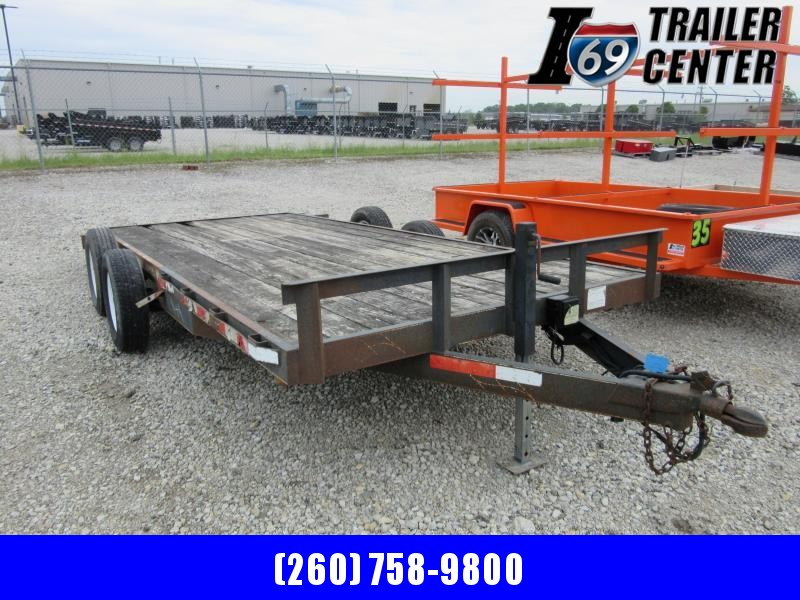 2007 Other 82x16 7K wood deck car hauler Car / Racing Trailer