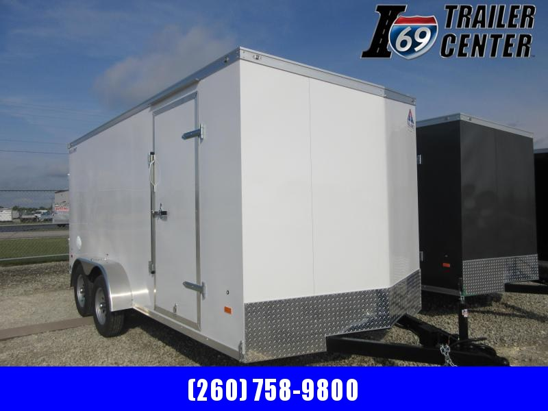 2021 Haul-About Cougar 7 x 16 Tandem Axle Enclosed Cargo Trailer