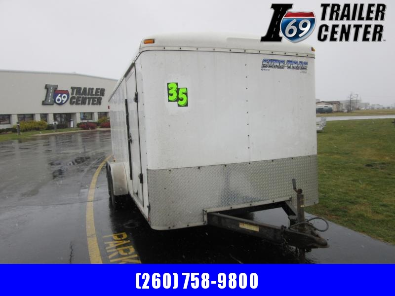 2011 Sure-Trac STR8416TA-100 Enclosed Cargo Trailer