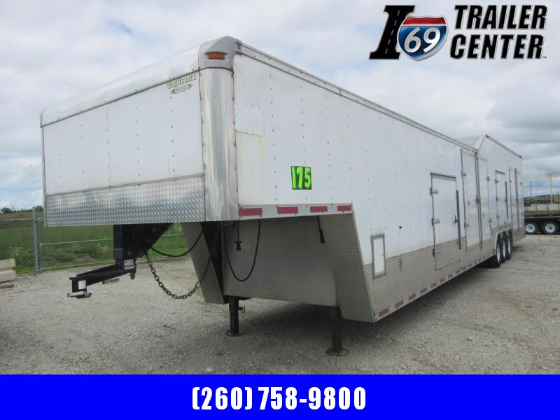 2006 Continental Cargo Enclosed Gooseneck 48FT 21K car hauler Car / Racing Trailer