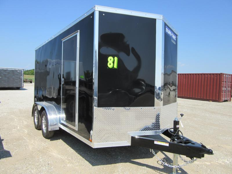 2020 Sure-Trac 7 x 14 Pro Series Enclosed Wedge Cargo Trailer (STW8414TA) ( Enclosed Cargo Trailer