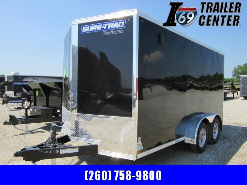 2020 Sure-Trac 7 x 14 Pro Series Enclosed Wedge Cargo Trailer (STW8414TA) ( Enclosed Cargo Trailer
