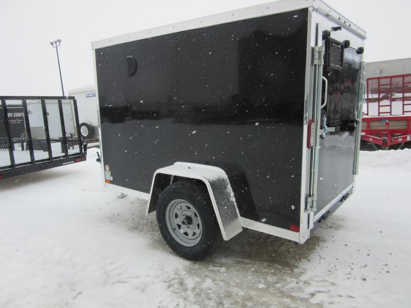 2021 Sure-Trac 5 x 8 Pro Series Enclosed Wedge Cargo Tr