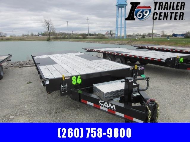 2021 Sure-Trac 8.5 x 20 7 ton tilt deckover gravity full tilt Equipment Trailer