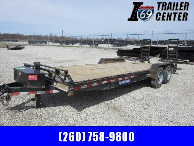 2015 Sure-Trac st82101T-B-140 Equipment Trailer
