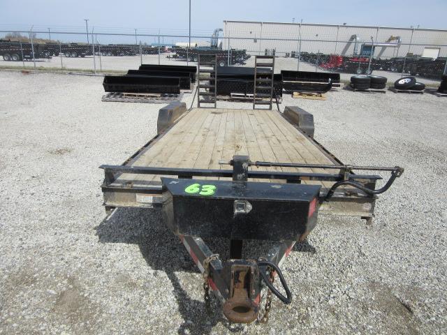 2015 Sure-Trac st82101T-B-140 Equipment Trailer