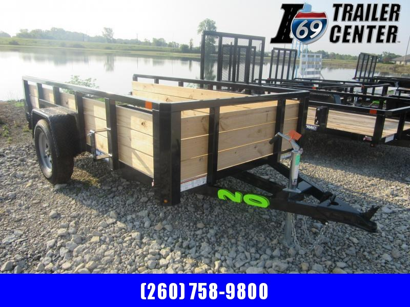 2020 Sure-Trac 5 x 10 Tube Top Three Board High Side Trailer (ST6210HST-B-030) Utility Trailer