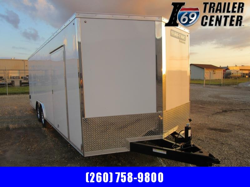 2021 Sure-Trac 8.5 x 24 enclosed car hauler Car / Racing Trailer
