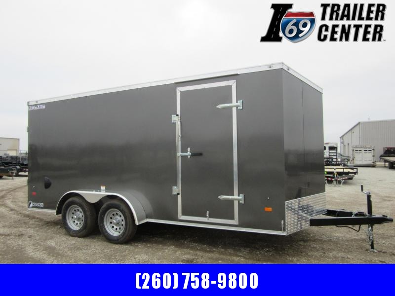 2021 Haul-About CGR716TA2 Cougar 7 x 16 TA 7K Enclosed Cargo Trailer