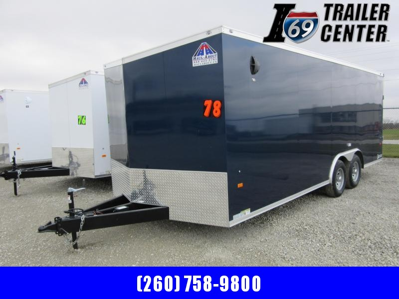 2021 Haul-About 8.5 x 20 10K Cougar model Car Hauler Car / Racing Trailer