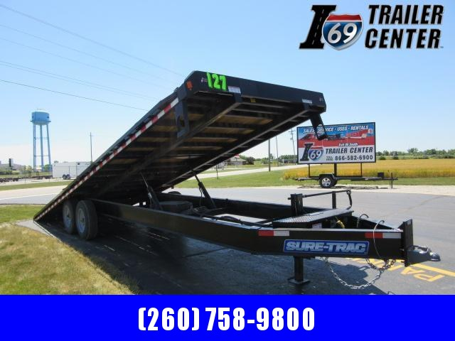 2020 Sure-Trac ST10226DOT2A-B-176 Flatbed Trailer