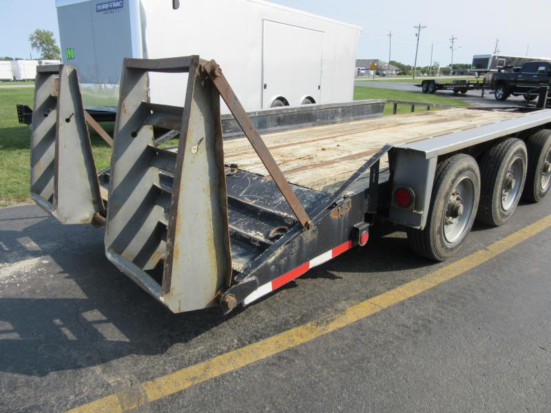 1999 Belshe Belshe tri-axle pintle equipment Equipment Trailer