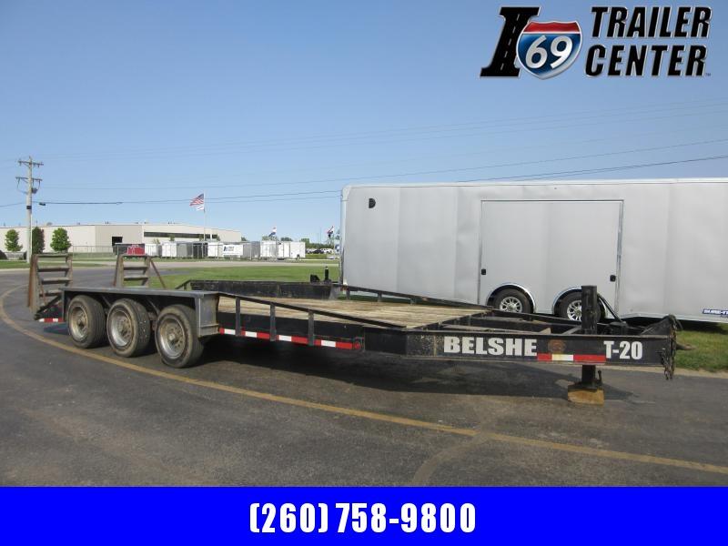 1999 Belshe Belshe tri-axle pintle equipment Equipment Trailer