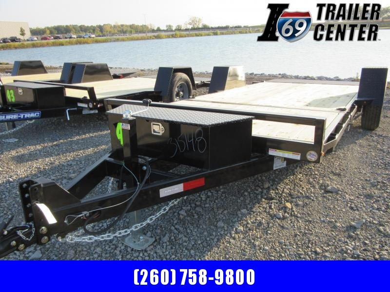 2021 Sure-Trac 78 IN x 12+4 Single Axle Tilt Bed Equipm