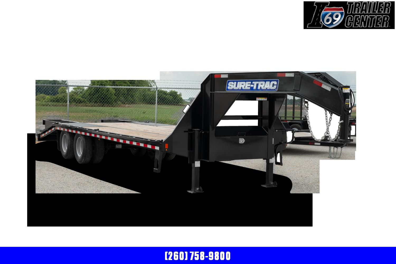 2021 Sure-Trac 8.5 x 25+5 Heavy Duty Low Profile Goosen
