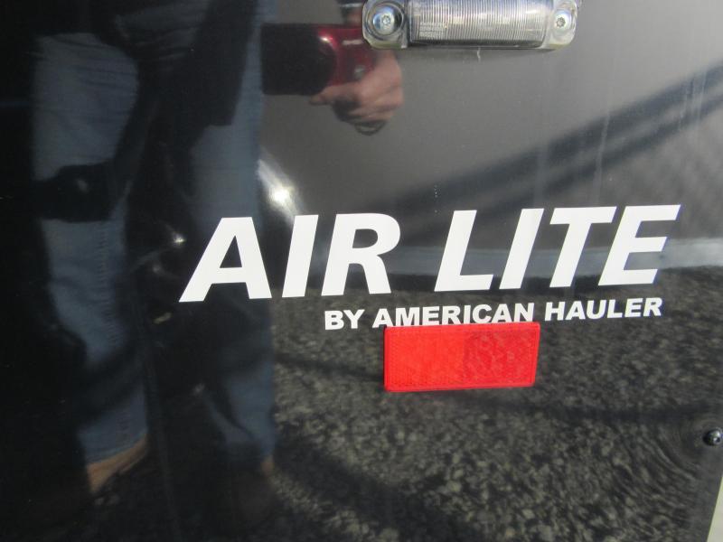 2019 American Hauler Industries ALC8524TA2 ROUND TOP ENCLOSED CAR HAULER Car / Racing Trailer