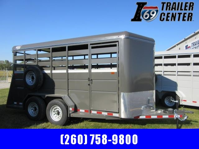 "2022 Valley Trailers 16' x 6'8"" x 7' Stock (26816) Livestock Trailer"