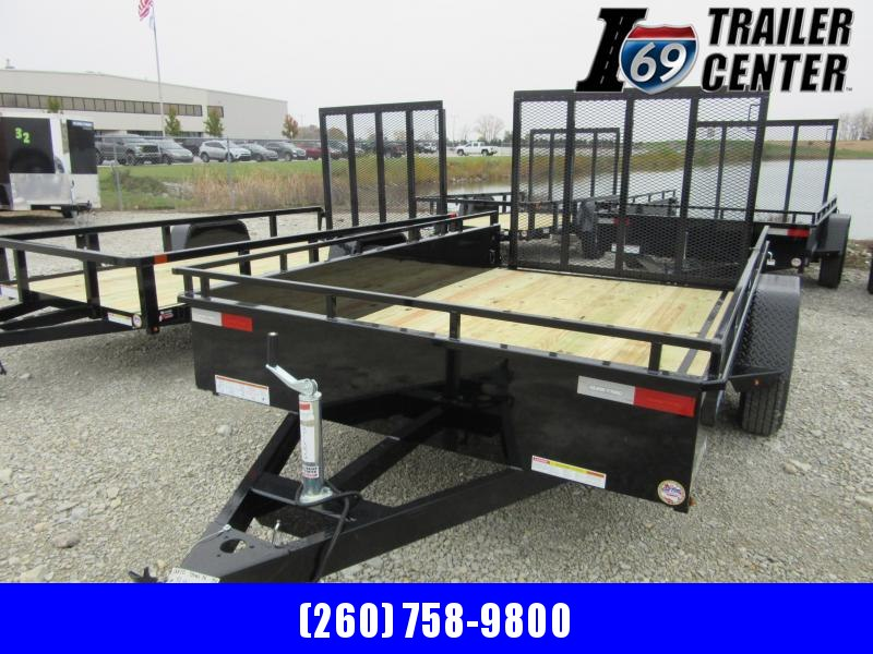 2021 Sure-Trac 6 x 10 Steel High Side Trailer  3k Idler