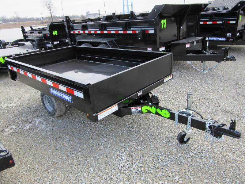2020 Sure-Trac 4.5 x 8ft Utility Dump Trailer