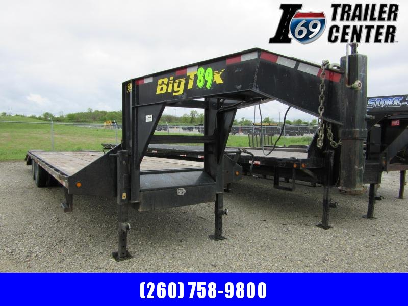 2012 Big Tex Trailers Gooseneck 25+5 22.5K Equipment Trailer