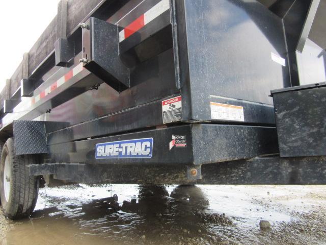 2016 Sure-Trac ST8214HLOD-B-140 Dump Trailer