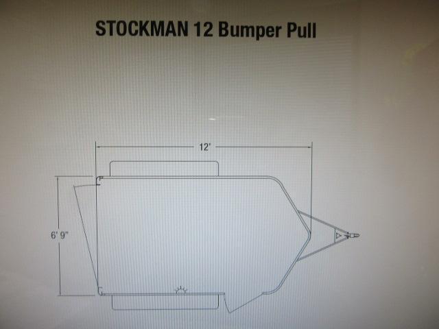 2022 Sundowner Trailers SUNLITE STOCKMAN 12BP Livestock Trailer