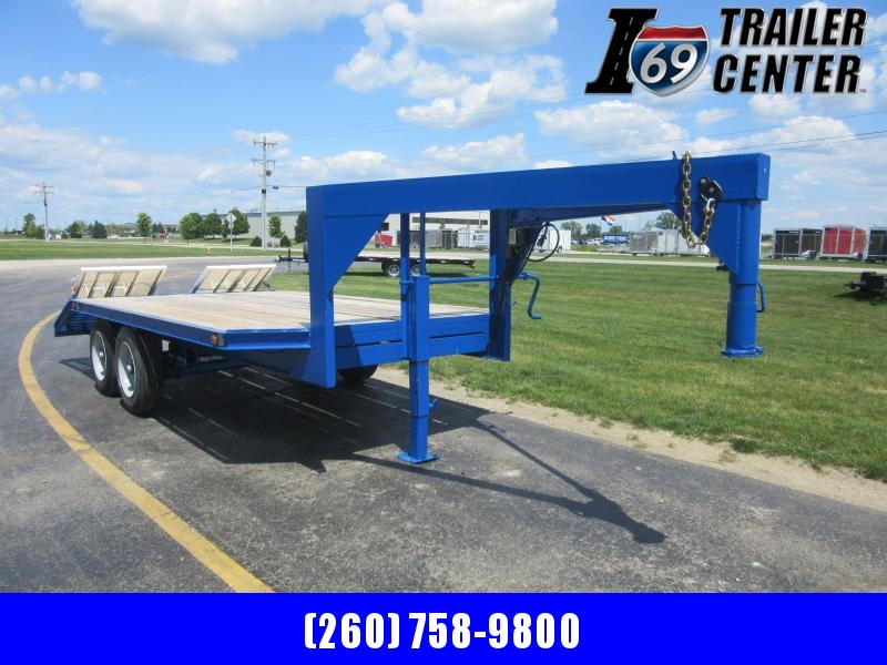 1994 Other 16+4 deckover 16K goosneck Equipment Trailer