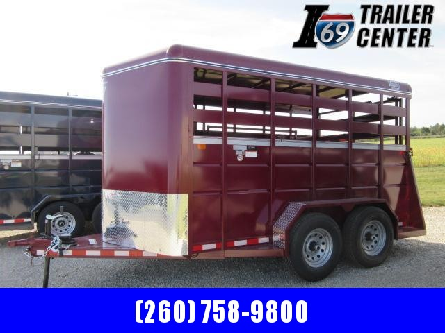 "2022 Valley Trailers 12' x 6'8"" x 7' Stock (26812) Livestock Trailer"
