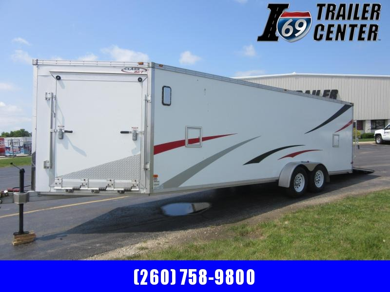 2009 Other Snowmobile enclosed drive on drive off aluminum frame Snowmobile Trailer