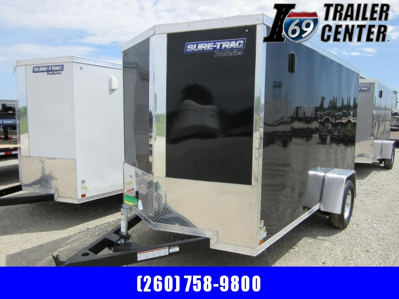 2021 Sure-Trac 6 x 10 Pro Series Enclosed Wedge Cargo T