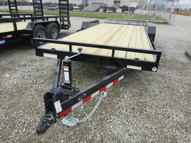 2021 Sure-Trac 7 x 17+3 Universal Ramp Equipment Traile