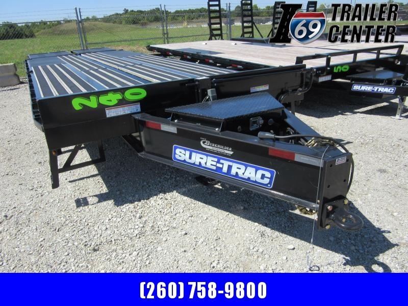 2020 Sure-Trac 8.5 x 23+5 LP Deckover Tandem 259K Equipment Trailer