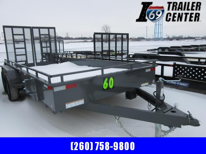 2021 Sure-Trac 7 x 16 Steel High Side Trailer  10K Tand