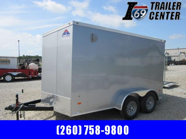 2022 Haul-About Cougar 7' x 12 tandem axle Enclosed Cargo Trailer