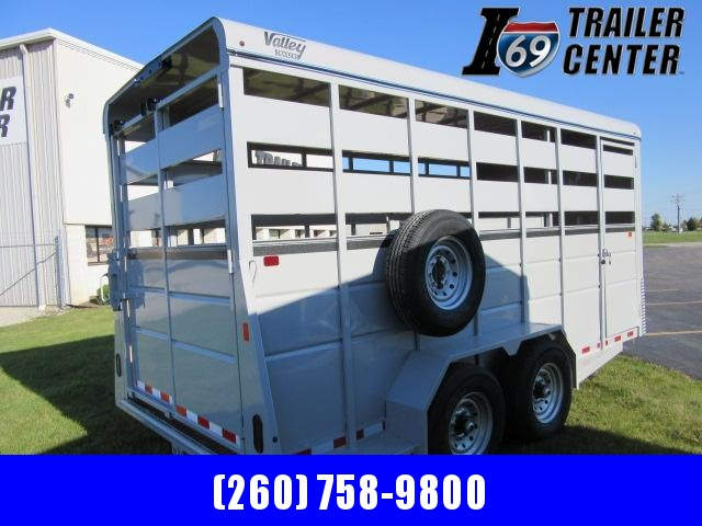 """2022 Valley Trailers 18' x 6'8"""" x 7FT Stock (26818) Livestock Trailer"""