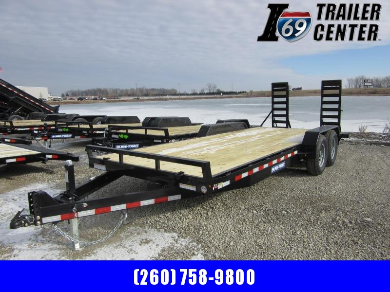 2021 Sure-Trac ST8220ET-B-140 Equipment Trailer