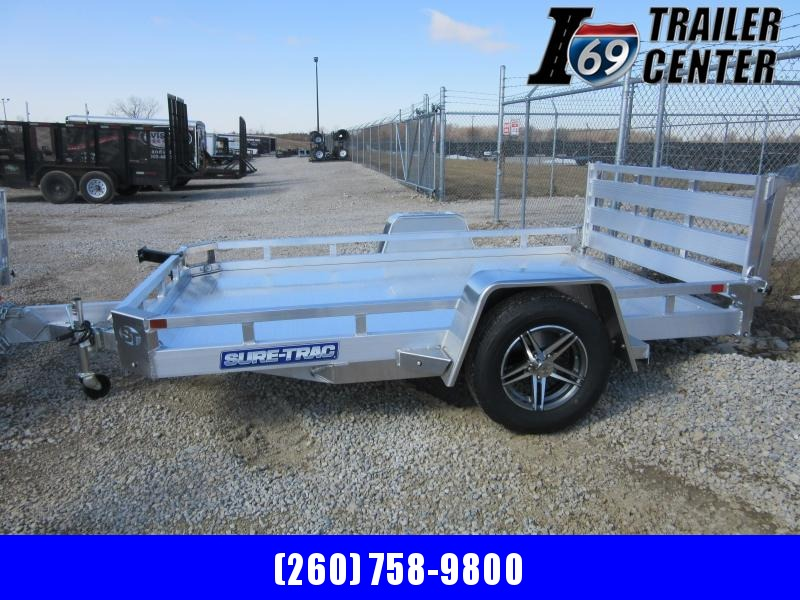 2021 Sure-Trac 7 X 10 Aluminum Low Side Utility  3K